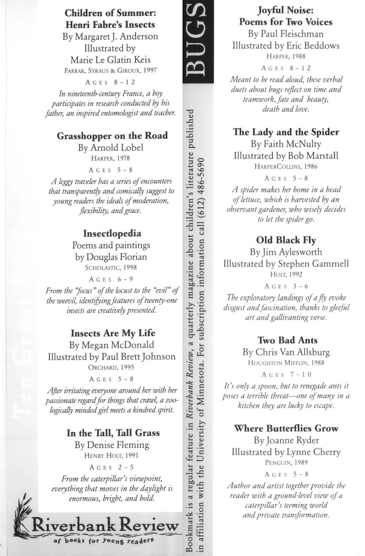 Riverbank Review bookmark