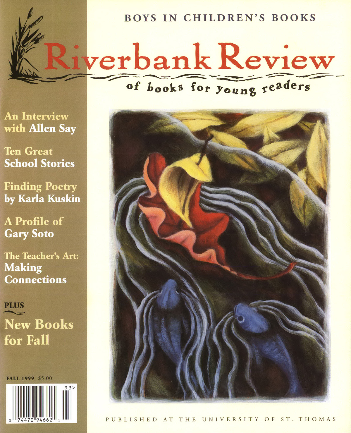 Fall 1999: Lauren Stringer cover