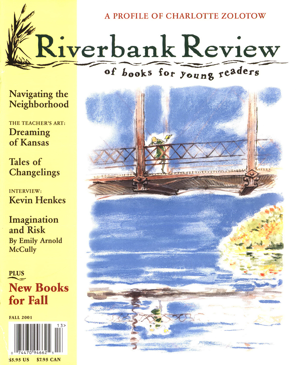 Fall 2001: David Small cover